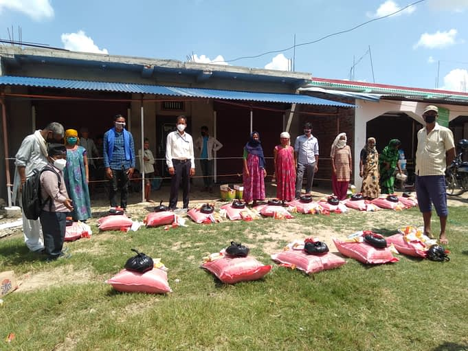 Relief distribution in Banke district